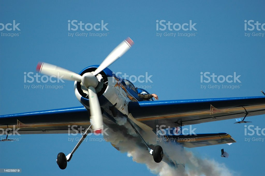 Russian Sukhoi Su-29 Training Aircraft royalty-free stock photo