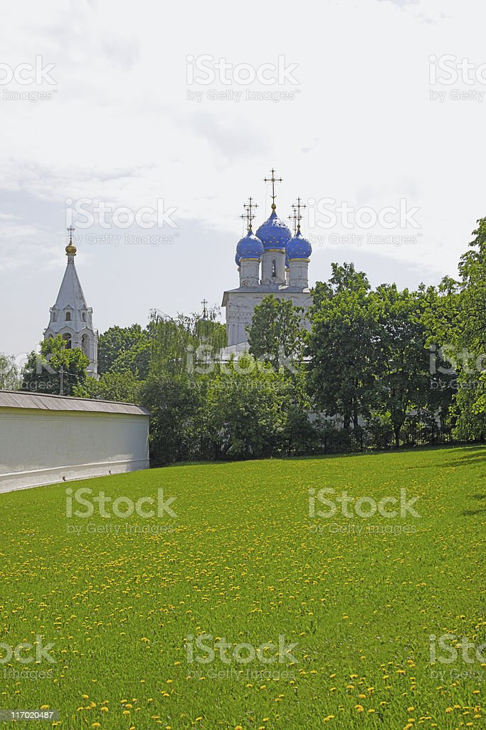 Russian view royalty-free stock photo