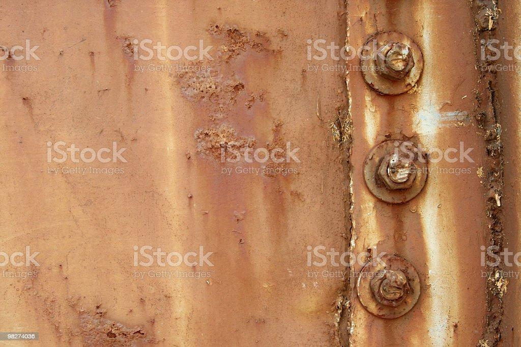 rust and bolts royalty-free stock photo