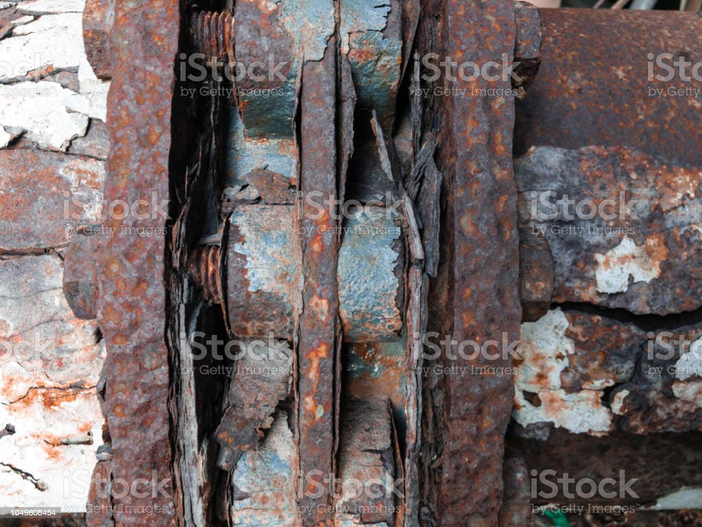 Rust And Corrosion In The Weldcorrosion Of Metalrust Of