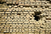 Turkey - Middle East, Brick, Brick Wall, Red, Weathered