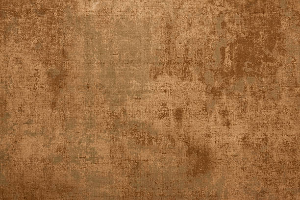 rust colored background texture - parşömen tekstil stok fotoğraflar ve resimler