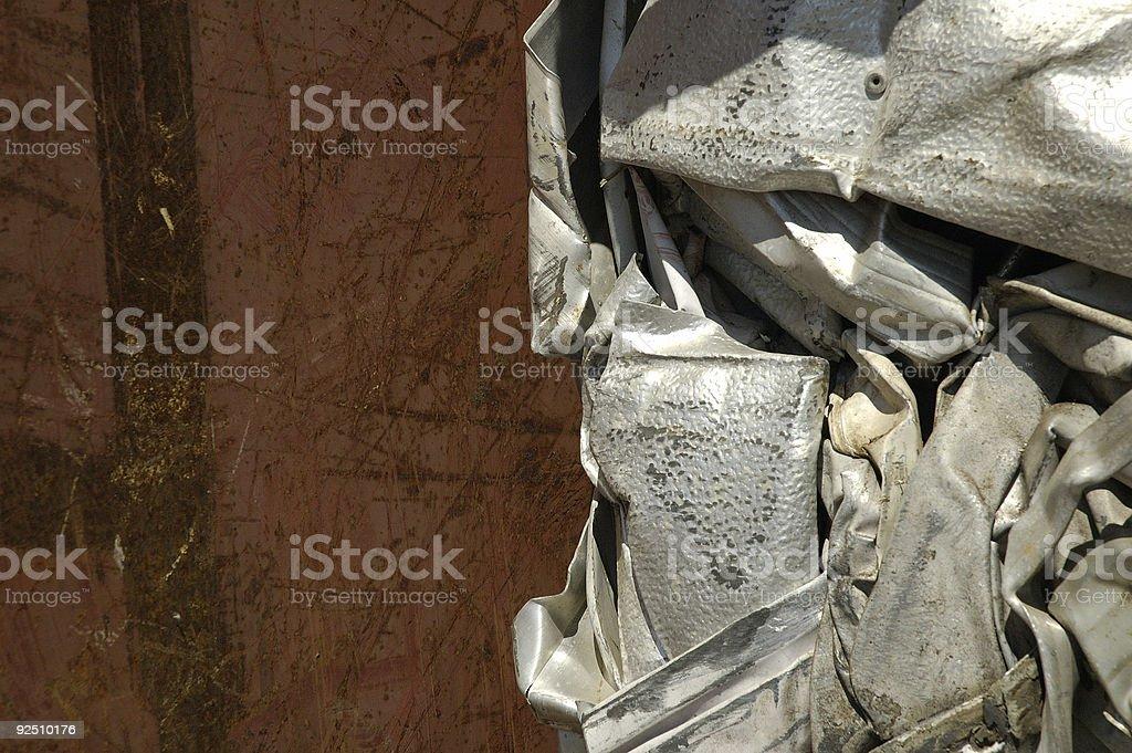 rust & crumple royalty-free stock photo