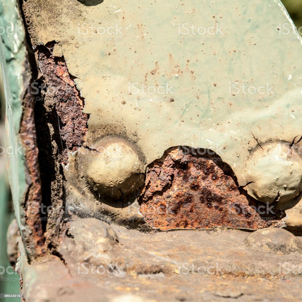 Rust detail royalty-free stock photo