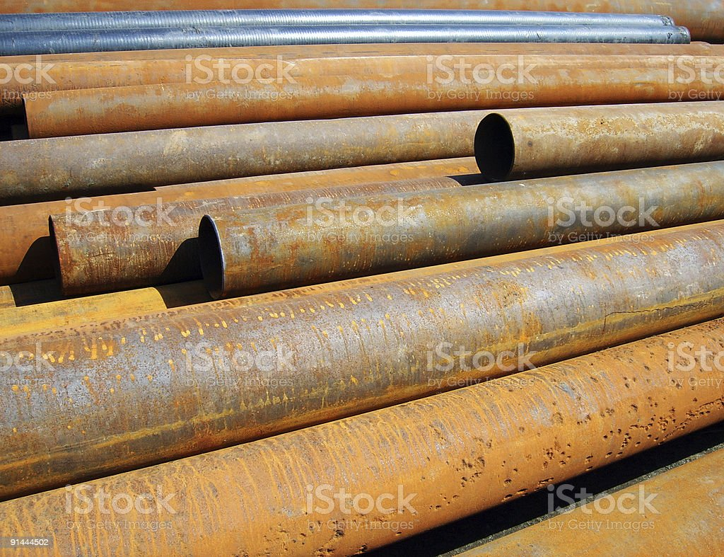 Rust formation royalty-free stock photo