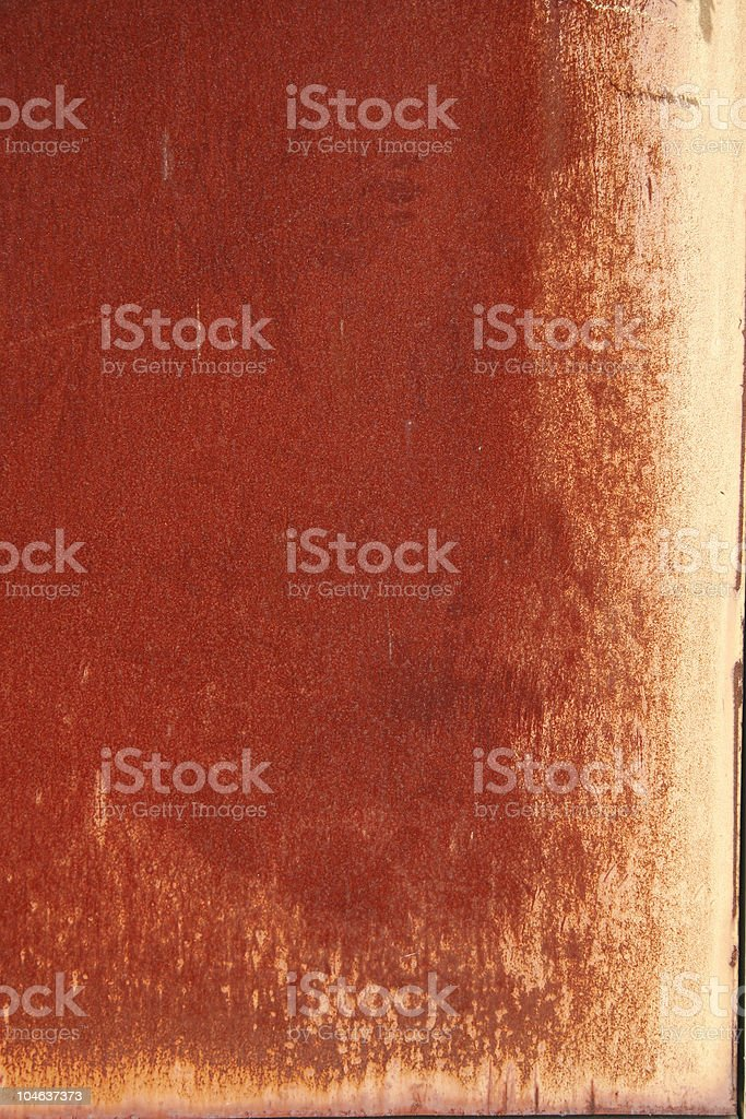 Rust Grunge royalty-free stock photo