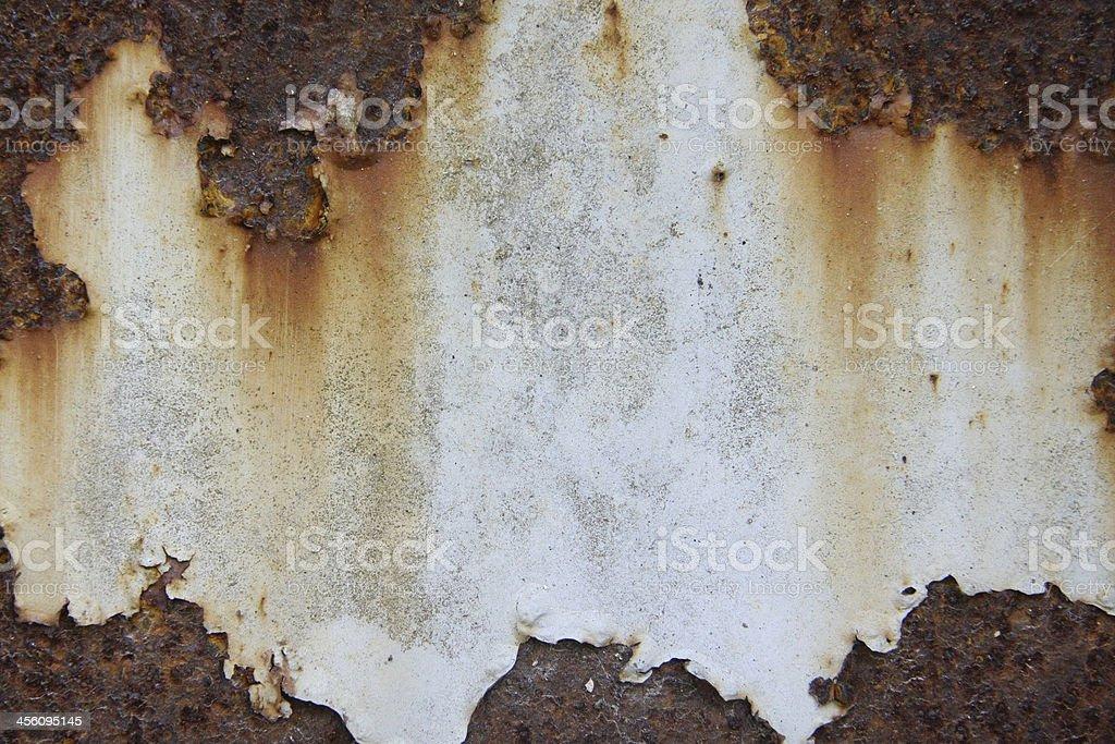 Rust iron sheet royalty-free stock photo