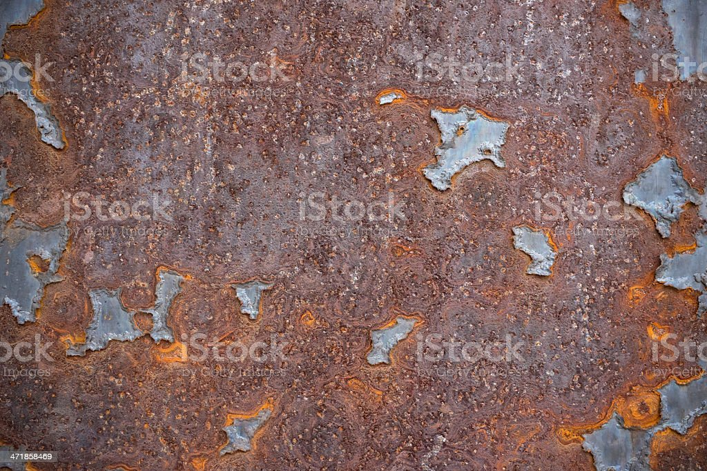Rust metal textured background royalty-free stock photo