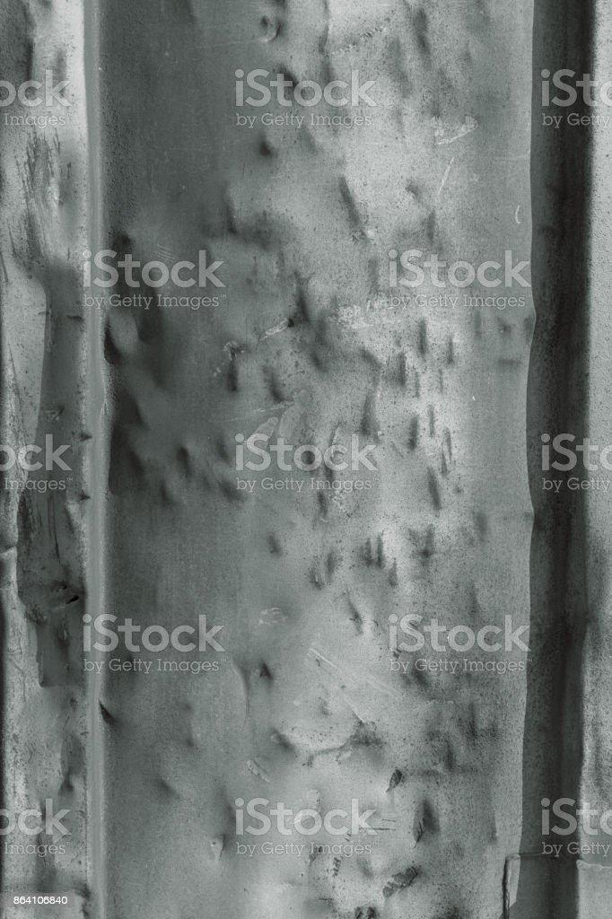 rust on a metal door royalty-free stock photo