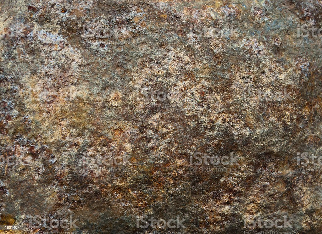 rust on the surface of iron royalty-free stock photo
