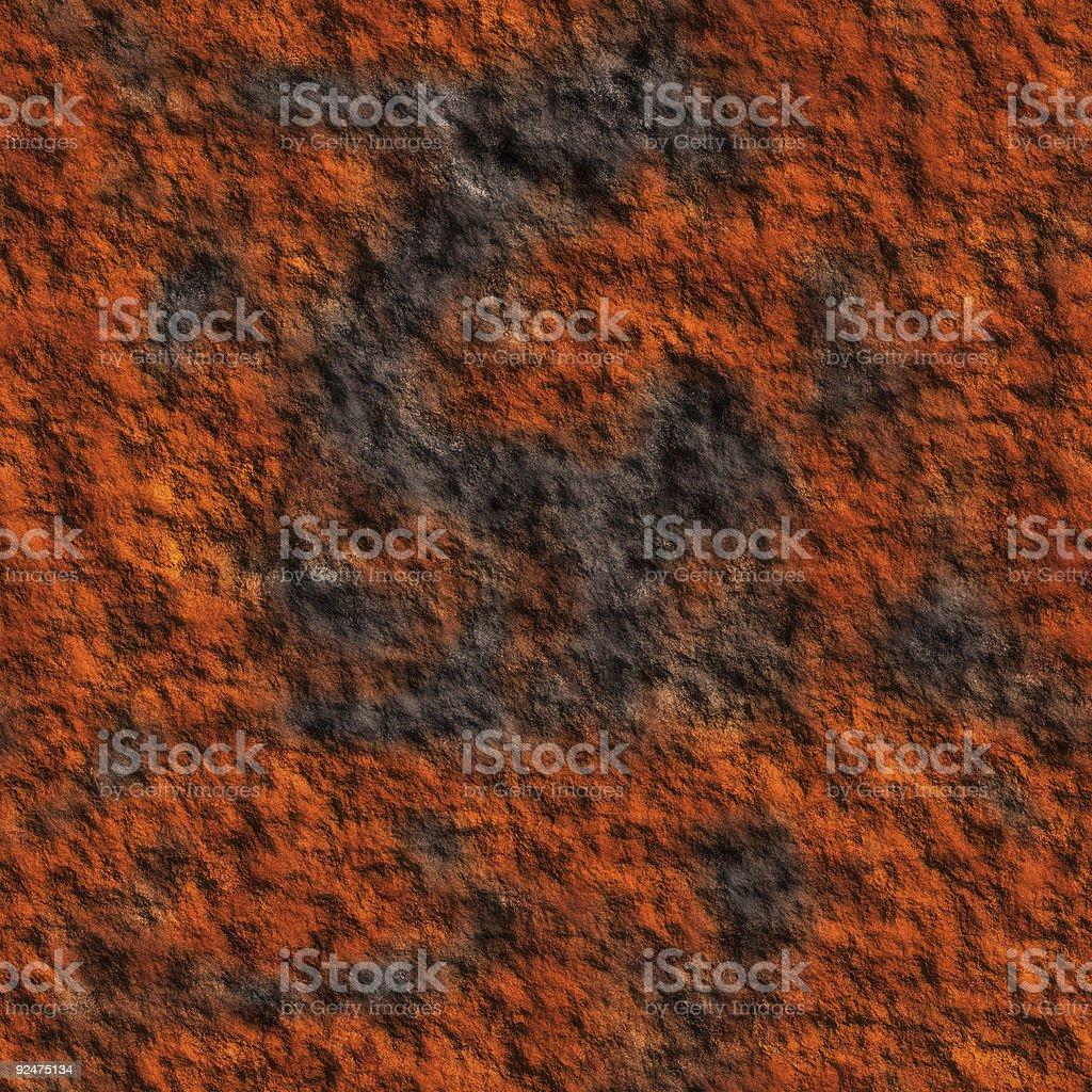 Rust (Seamless texture) royalty-free stock photo