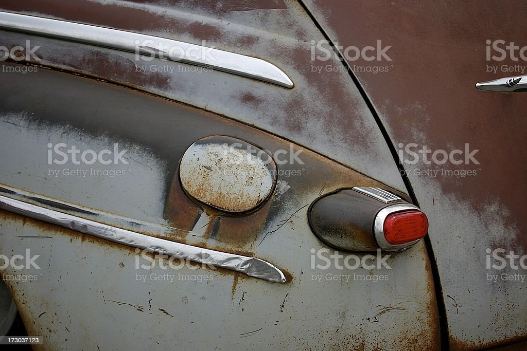Rust Rod royalty-free stock photo