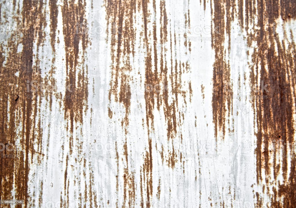 Rust Sheet Texture Painted Scratch Metal Wall Background