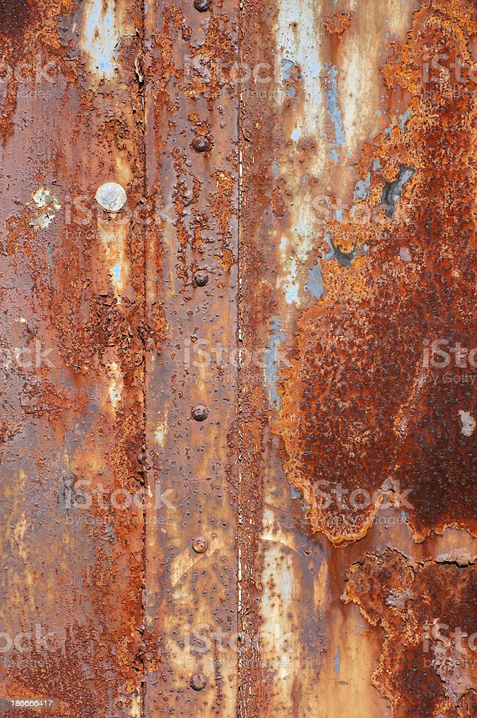 Rost steel royalty-free stock photo