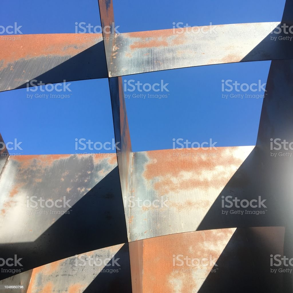 Rust structure stock photo