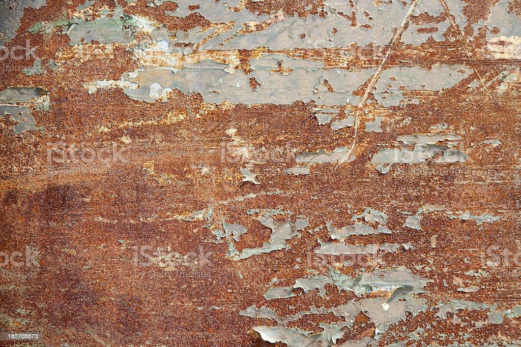 (XXXL) Rust Texture royalty-free stock photo