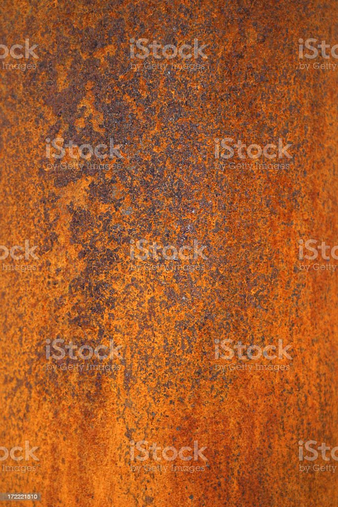 Rust-colored texture background royalty-free stock photo