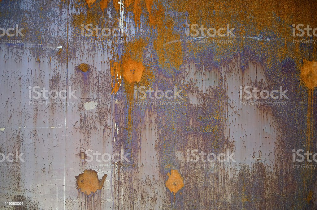 rust-eaten anything royalty-free stock photo