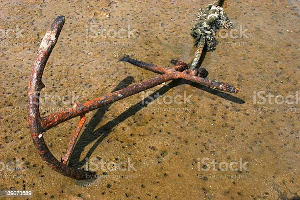 Photo of Rusted Anchor