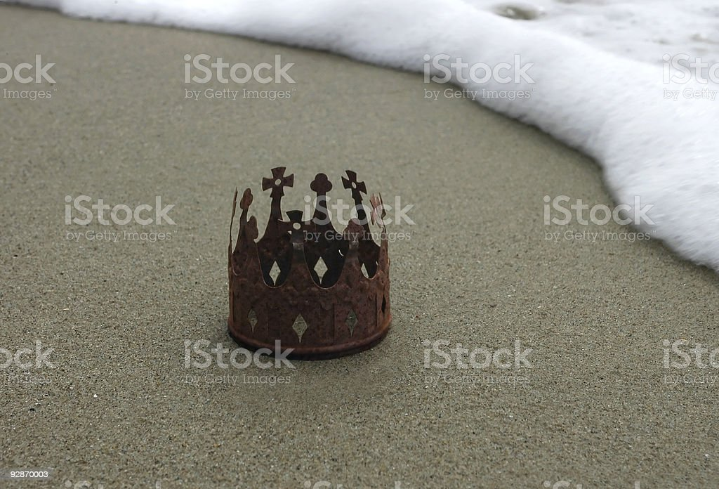 Rusted Crown at Surfline stock photo