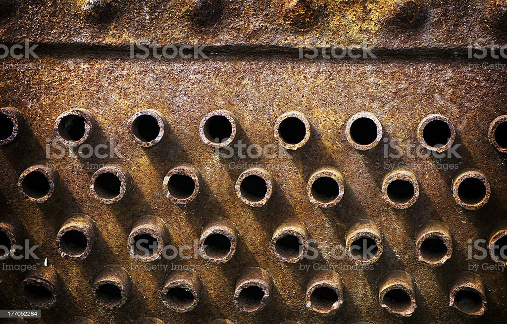 Rusted Iron 2 royalty-free stock photo