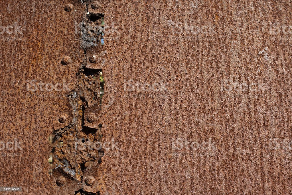 Rusted Joint royalty-free stock photo