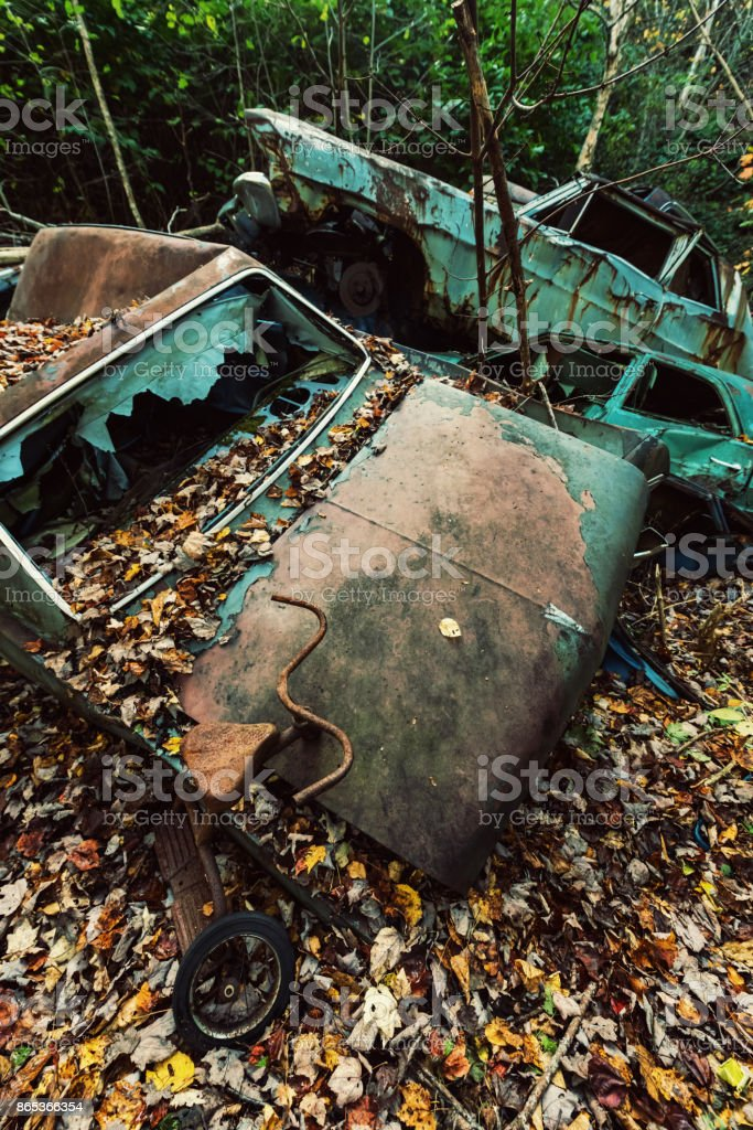 Rusted Memories stock photo