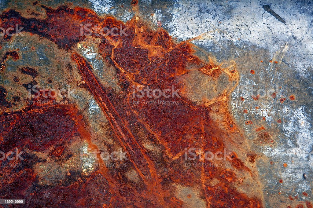 Rusted Metal 1 royalty-free stock photo