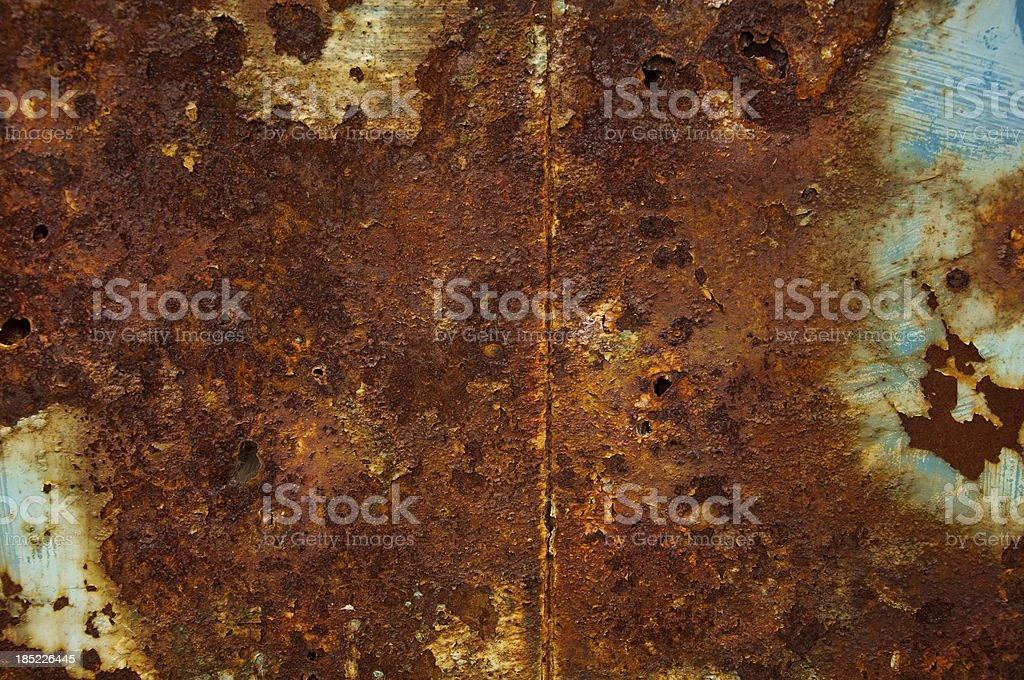 Rusted metal background stock photo