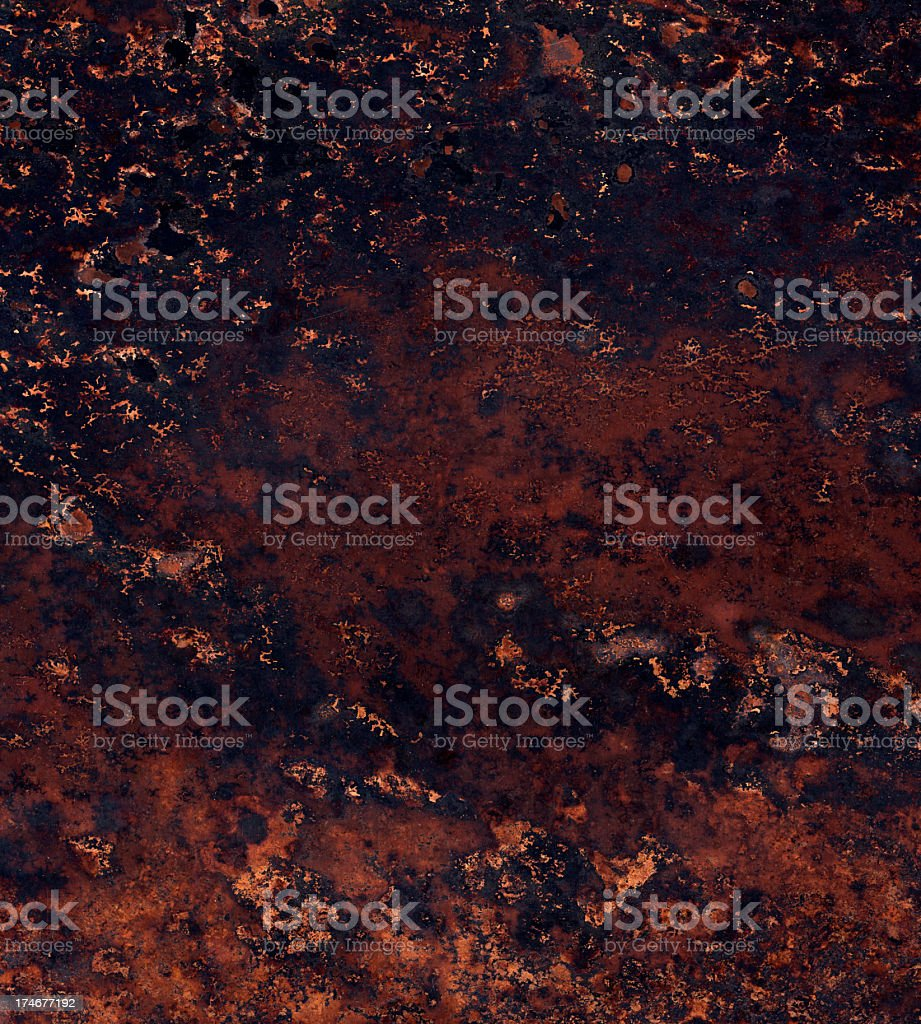 rusted metal surface royalty-free stock photo