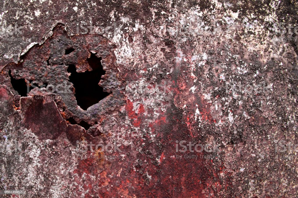 Rusted metal texture car background. zbiór zdjęć royalty-free