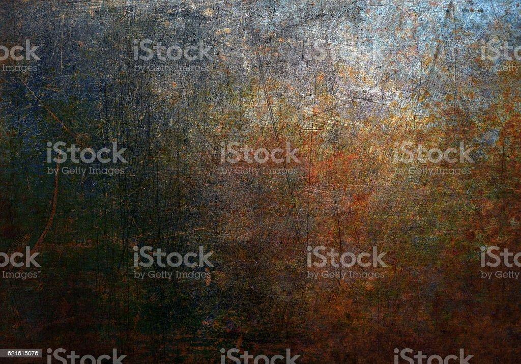 Verrostete Metall Textur – Foto