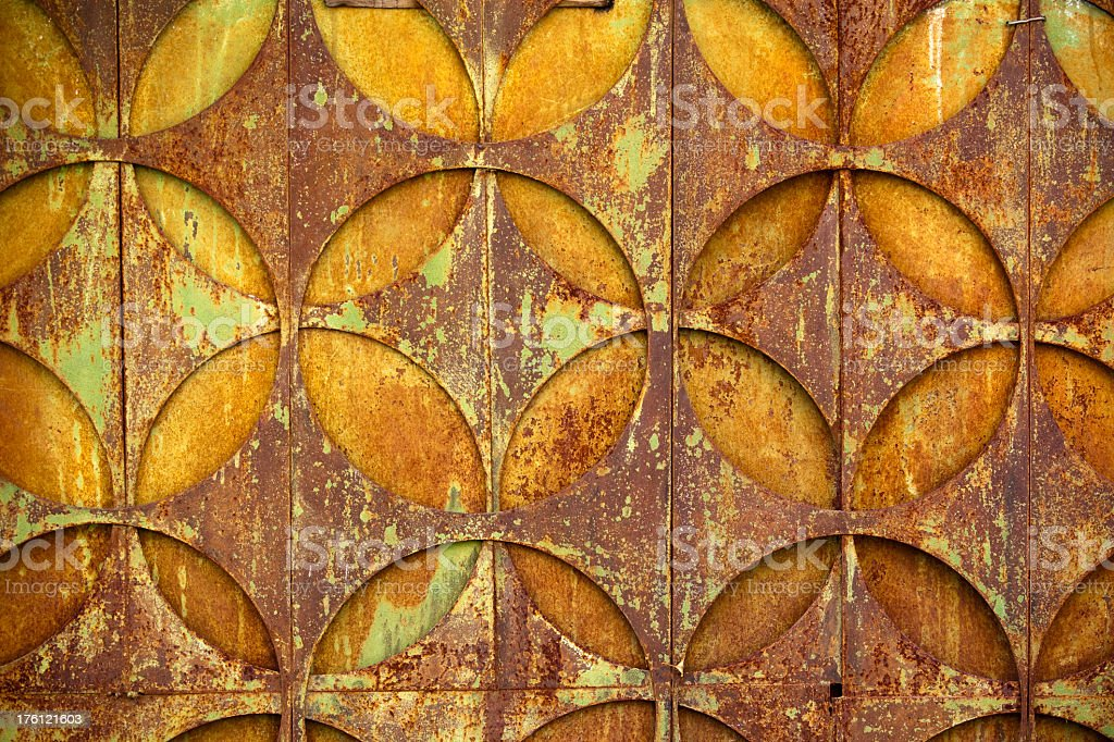 Rusted metallic texture (XXXL) royalty-free stock photo
