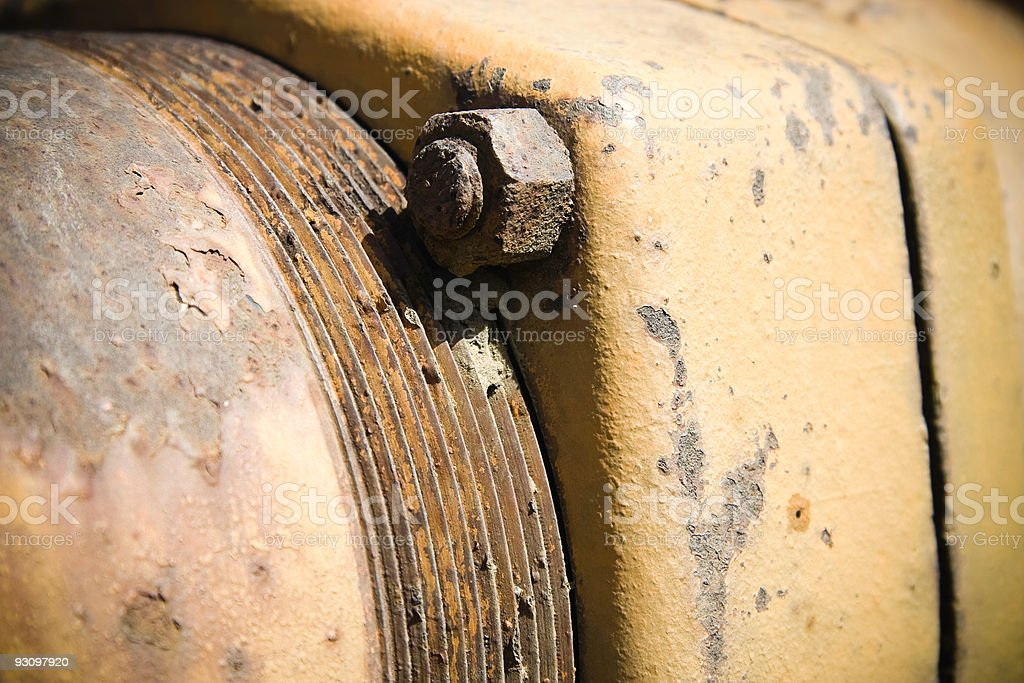 Rusted Object royalty-free stock photo