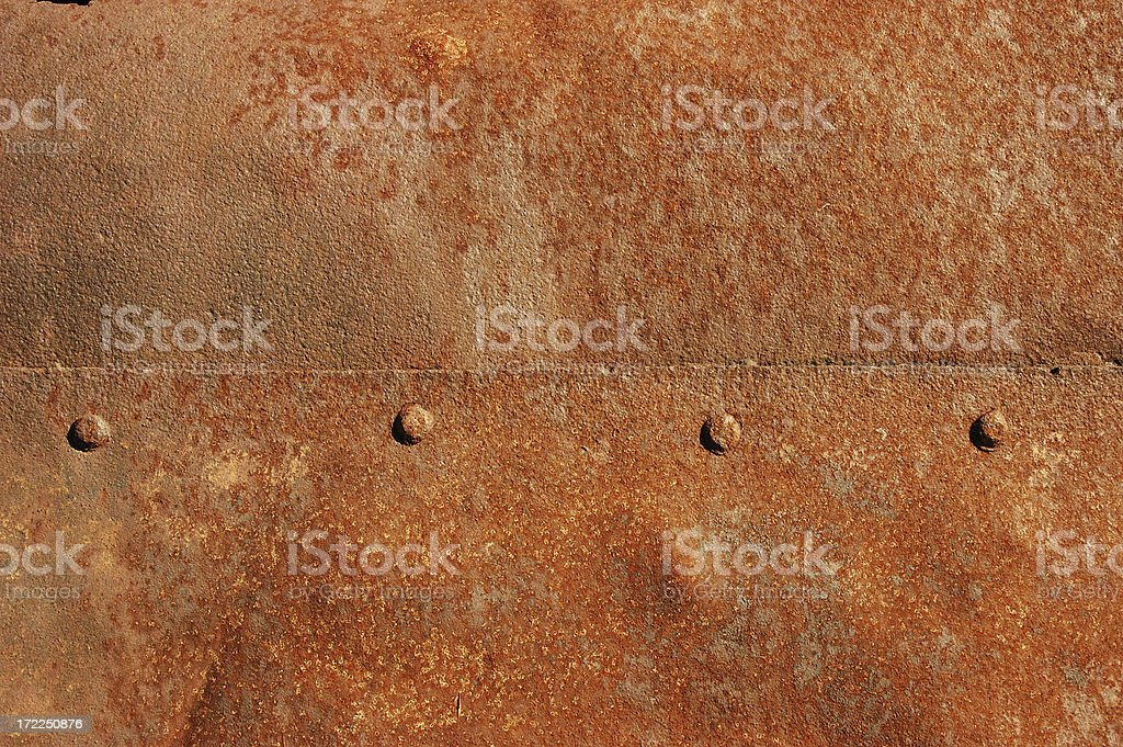 Rusted panel royalty-free stock photo