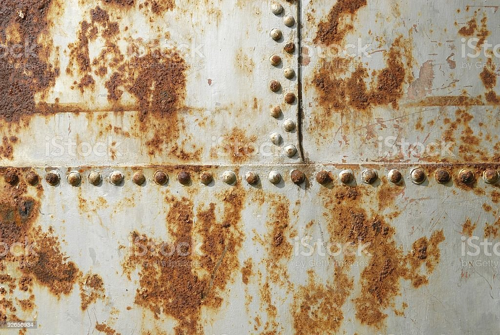 Rusted pipe royalty-free stock photo