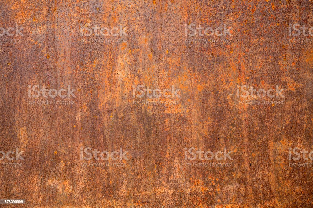 Rusted steel as texture stock photo
