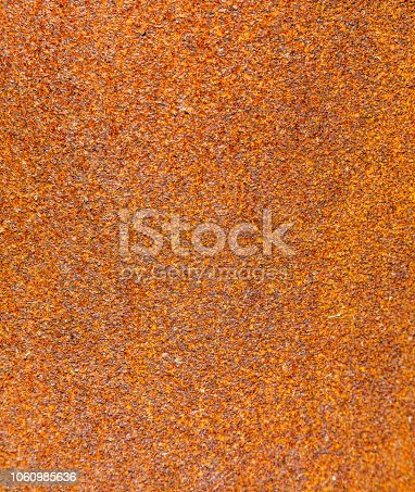 Rusted steel as texture