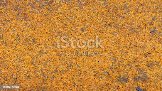 Rust is an iron oxide, usually red oxide formed by the redox reaction of iron and oxygen in the presence of water or air moisture.