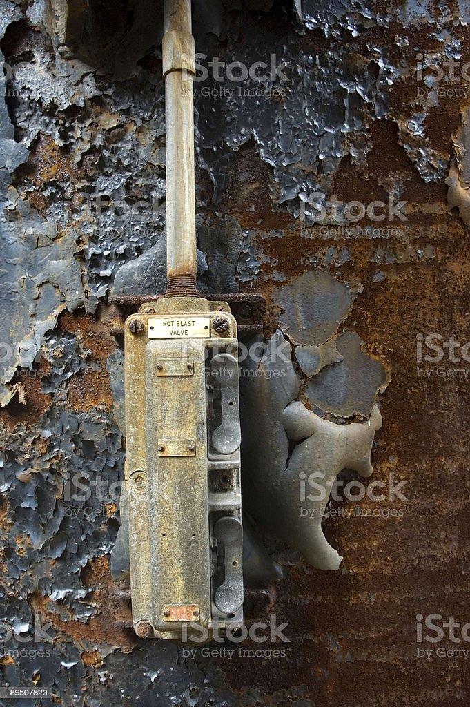 Interrupteur métaux photo libre de droits