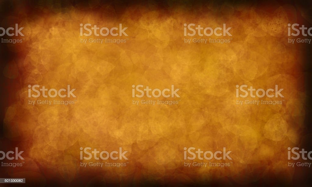Rustic Antique Paper Gold Leaves Texture Grunge Abstract Background stock photo