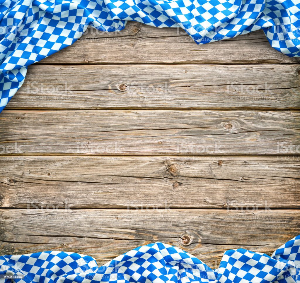 Rustic background for Oktoberfest royalty-free stock photo