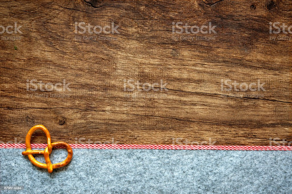 Rustic background for Oktoberfest stock photo