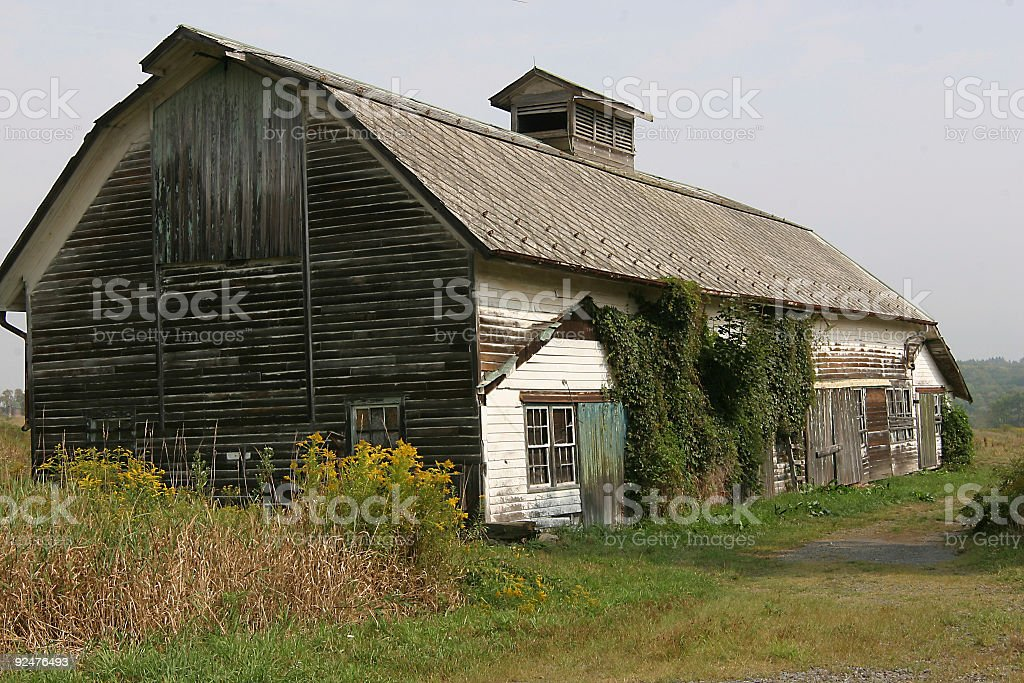 rustic barn royalty-free stock photo