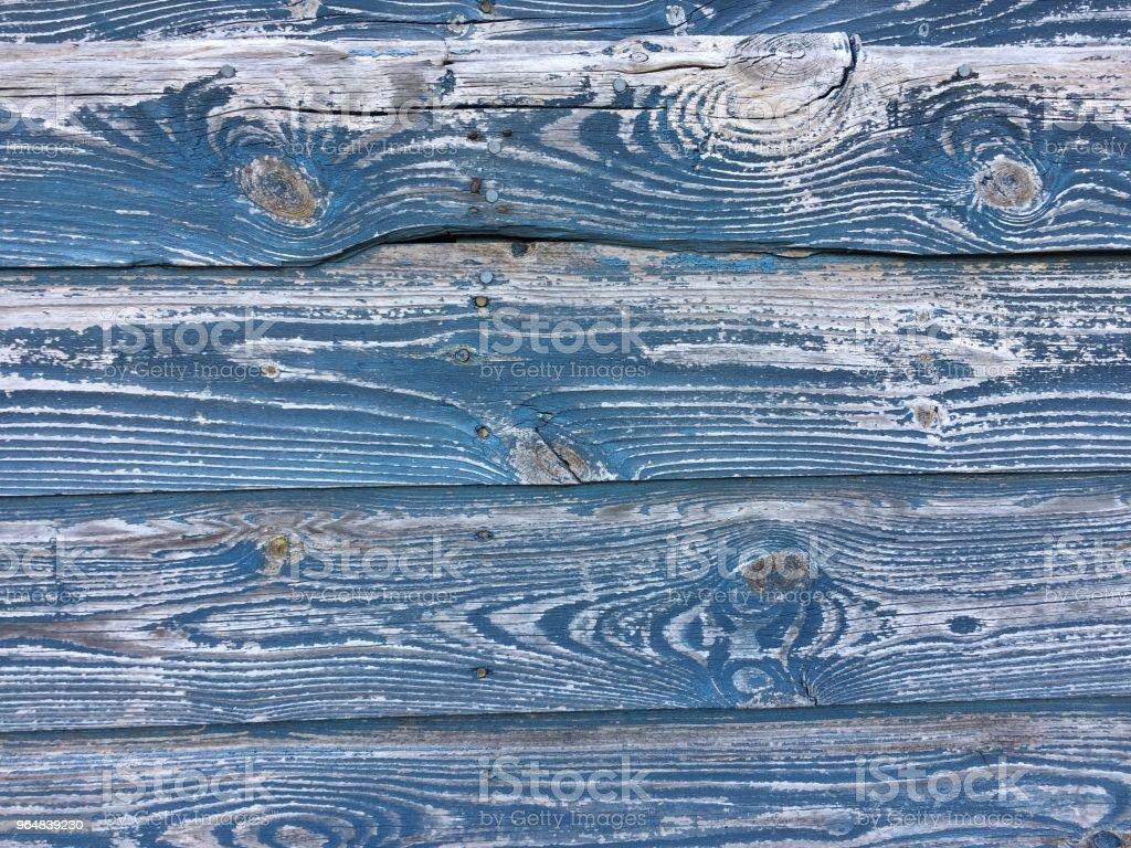 Rustic beach hut wood detail royalty-free stock photo