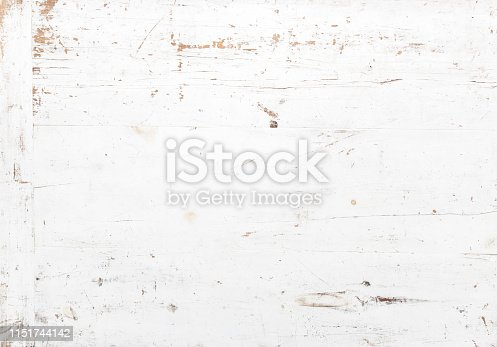 Rough textured blue painted wooden background