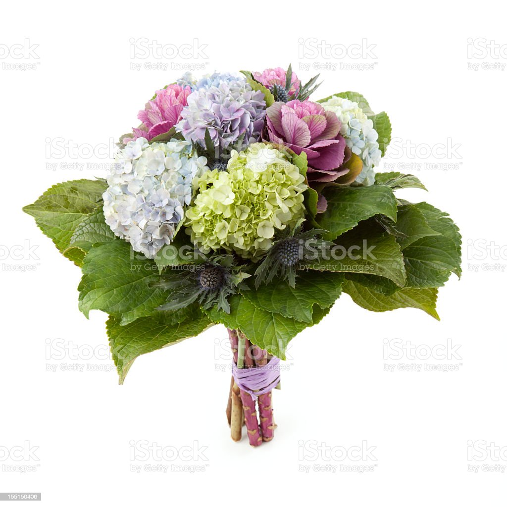 Rustic bouquet royalty-free stock photo