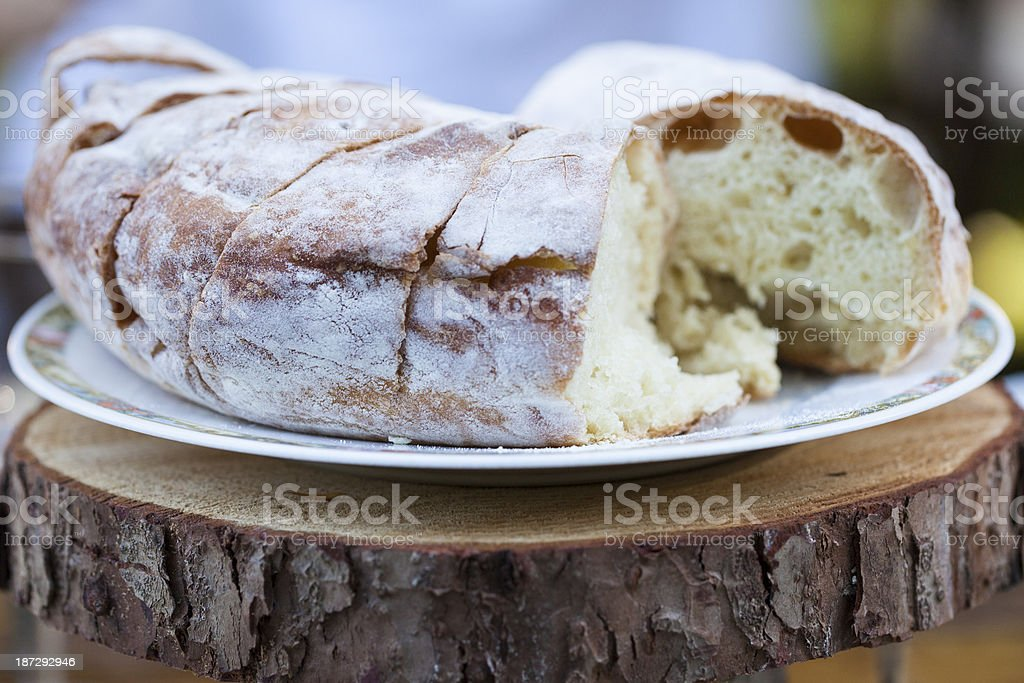 Rustic bread. royalty-free stock photo