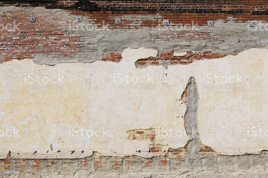 Rustic Brick Wall royalty-free stock photo