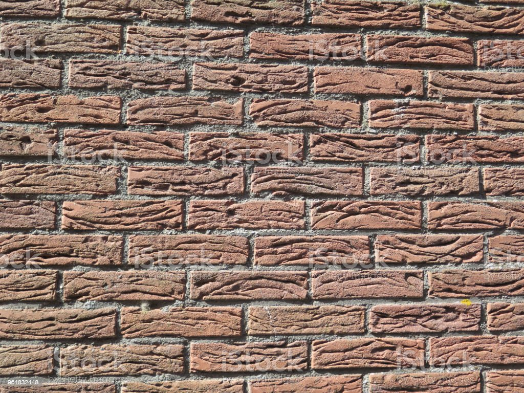 Rustic brick wall royalty-free stock photo
